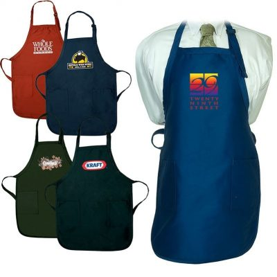 Gourmet Apron w/Pockets (Dark Colors)