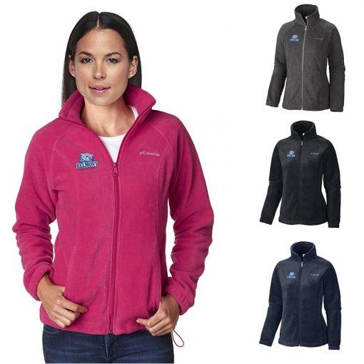 Ladies' Columbia® Benton Springs™ Full Zip Fleece Sweater