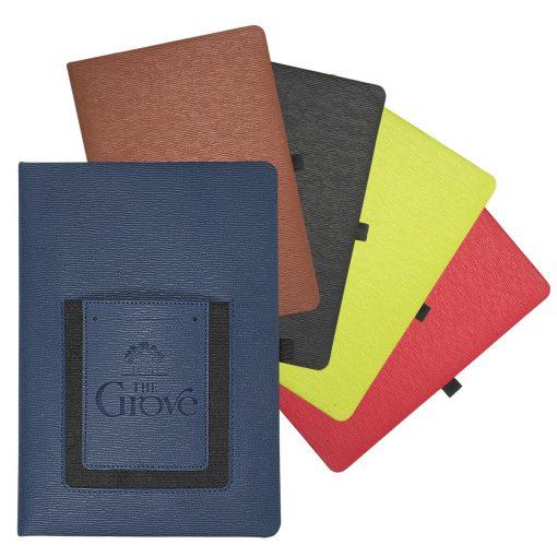 Roma™ Journal w/Phone Pocket
