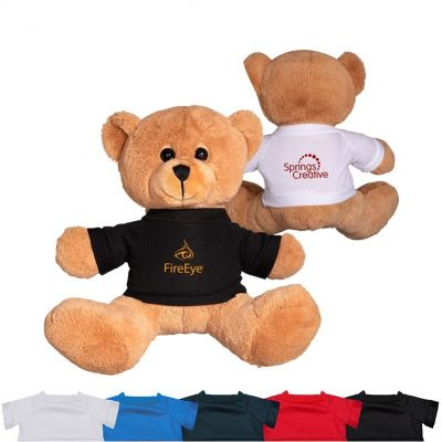 "8.5"" Plush Bear w/T-Shirt"