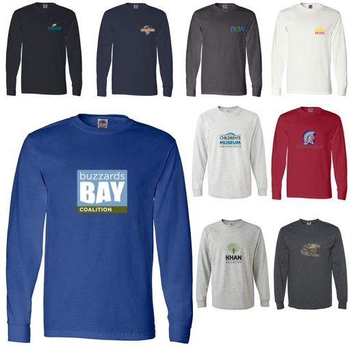 Adult Fruit of the Loom® Heavy Cotton Long Sleeve T-Shirt