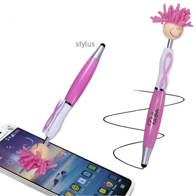 Awareness MopToppers® Screen Cleaner w/Stylus Pen