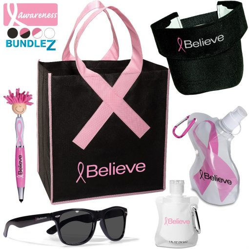Breast Cancer Awareness Event Pack Bundle w/Tote Bag
