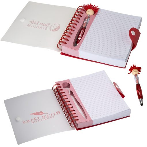 Canada Patriotic MopToppers® Stylus Pen & Notebook Set