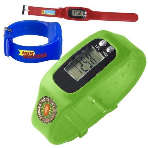 Digital Watch w/Pedometer