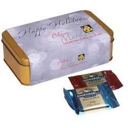 Ghirardelli® Greetings Tin