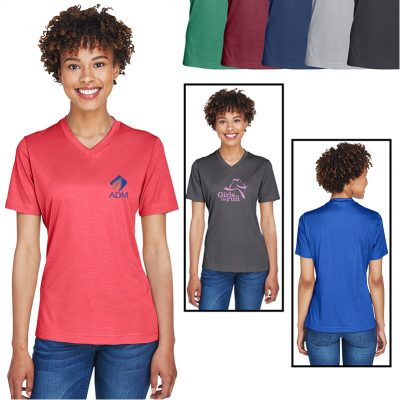 Ladies' Team 365® Sonic Heather Performance T-Shirt