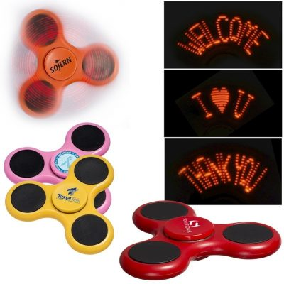 Light Up Logo PromoSpinner® Fidget Toy