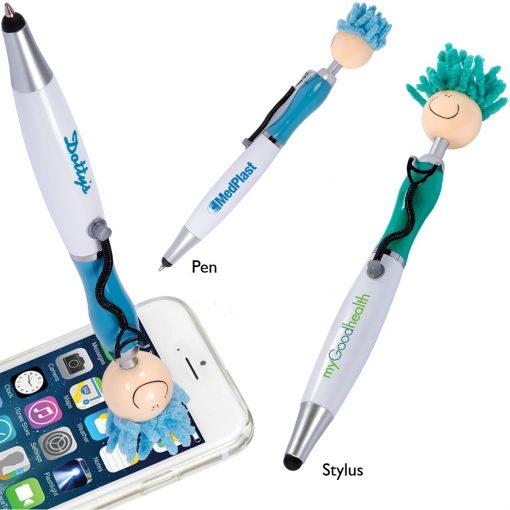 MopToppers® Screen Cleaner w/Stethoscope Stylus Pen