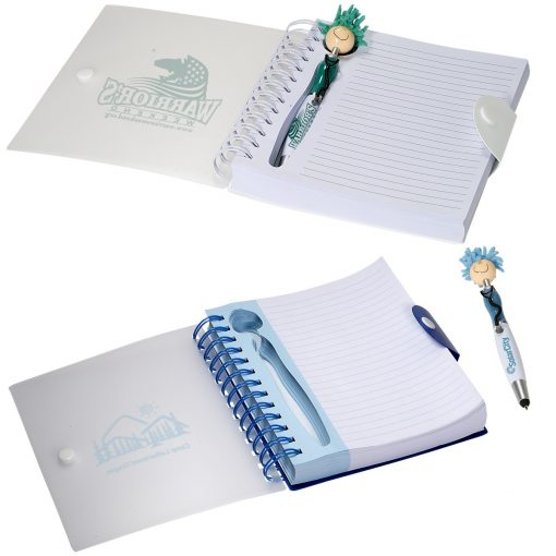 MopToppers® Stethoscope Stylus Pen & Notebook Set