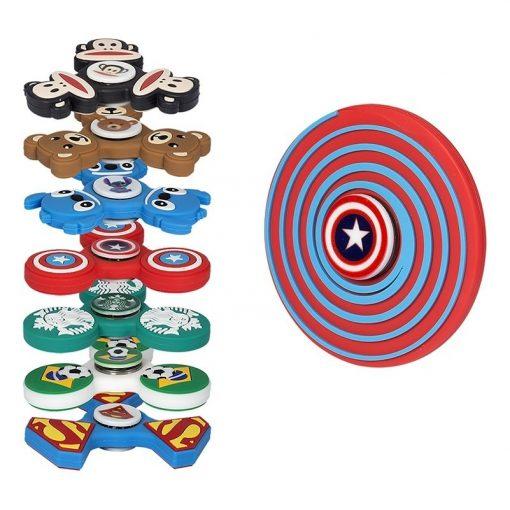 PVC Custom Shaped PromoSpinner® Fidget Toy