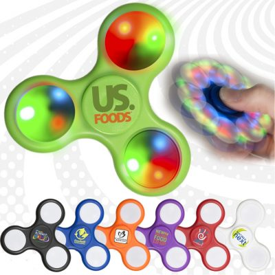 PromoSpinner® Fidget Toy - Light Up