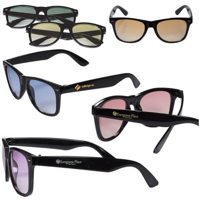 Sunglasses w/Gradient Lenses