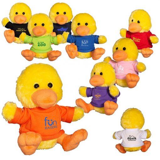 """7"""" Plush Duck w/T-Shirt"""