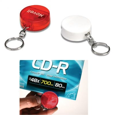 CD/DVD Opener Key Chain