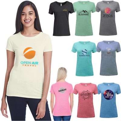 Ladies' Threadfast Apparel Triblend Short-Sleeve T-Shirt