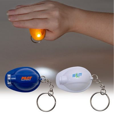 Hard Hat Key Chain Light