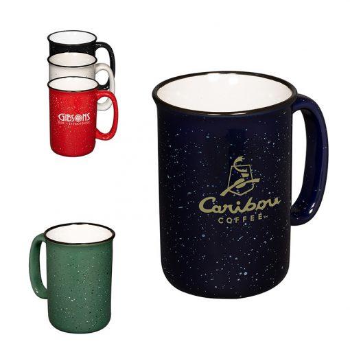 13 Oz. Tall Campfire Ceramic Mug