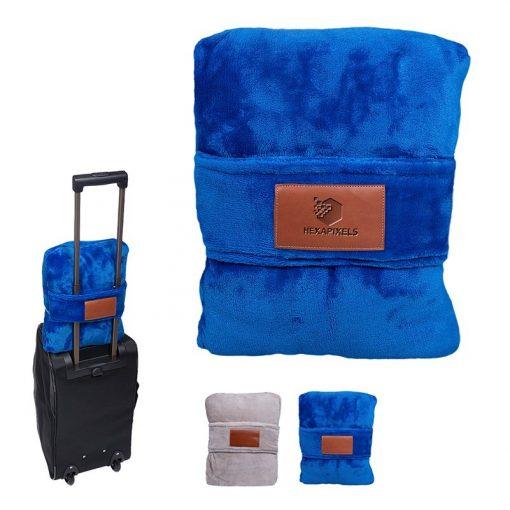 Leeman™ Duo Travel Pillow Blanket