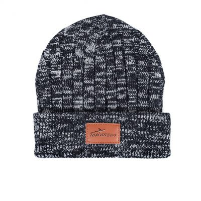 Leeman™ Heathered Knit Cuffed Rib Beanie