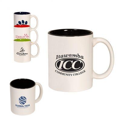 11 Oz. Two Tone C-Handle Mug