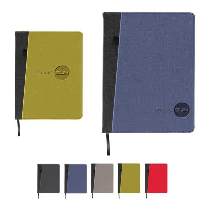 Baxter Large Refillable Journal w/Front Pocket
