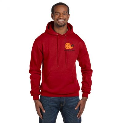 Champion® Adult 9 Oz. Double Dry Eco® Pullover Hood Shirt
