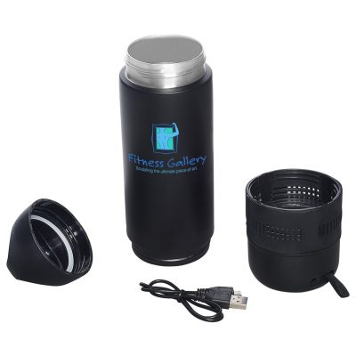 13 Oz. Freedom Wireless Speaker Vacuum Water Bottle