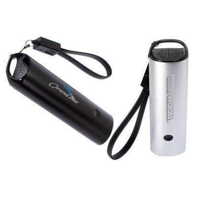 Power Bank w/Wireless Speaker