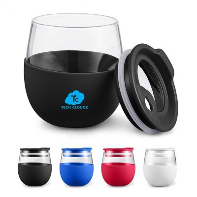 18.59 Oz. Orb Glass Tumbler
