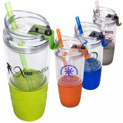 22 Oz. Quench™ Acrylic Cup w/Straw