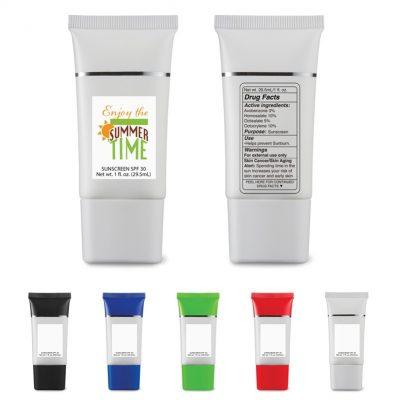 1 Oz. SPF 30 Sunscreen Squeeze Tube