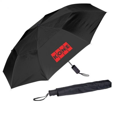 "44"" Vented Auto Open Folding Umbrella"