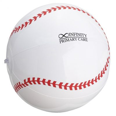 Baseball Shaped Beach Ball