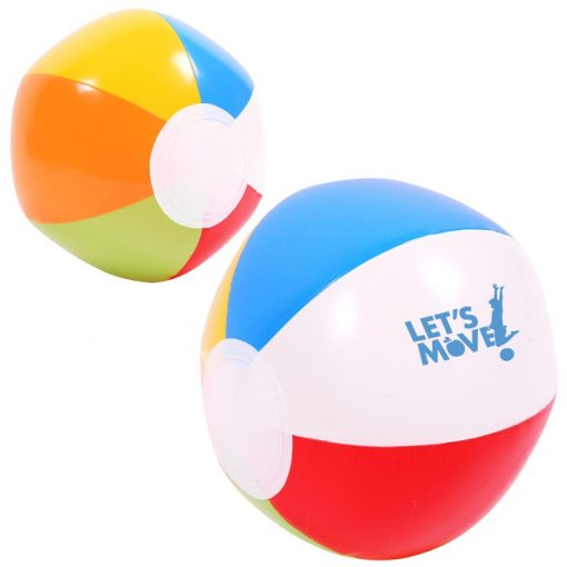 Multi-Colored Beach Ball