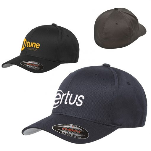 Adult Flexfit® Wooly Structured Fitted 6 Panel Cap