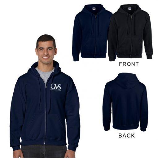 Gildan® Adult Heavy Blend™ Classic Fit Full Zip Hooded Sweatshirt