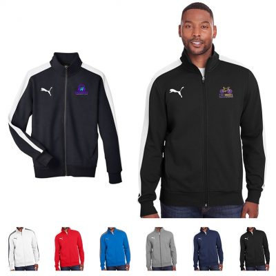PUMA® Adult P48 Fleece Track Jacket