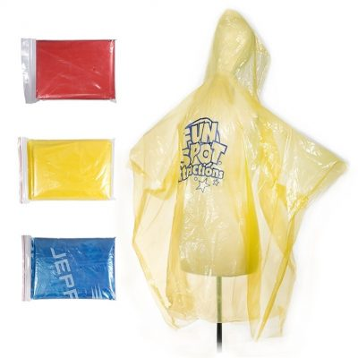 Emergency Rain Poncho (Overseas Direct)