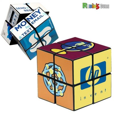 Rubik's® 4-Panel Full Custom Cube (Overseas Direct)