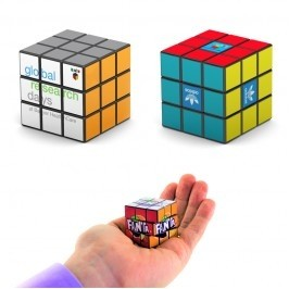 Rubik's® Mini 9-Panel Full Custom Cube (Overseas Direct)