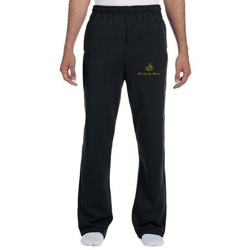 Jerzees® 8 Oz. Adult NuBlend® Open-Bottom Fleece Sweatpants