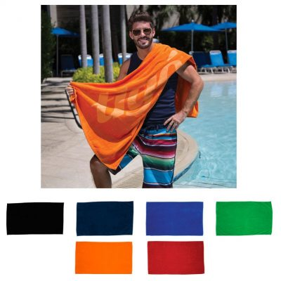 "Diamond Collection Colored Beach Towel (35"" x 60"")"