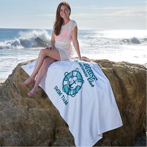 "Platinum Collection Beach Towel (35"" x 70"")"