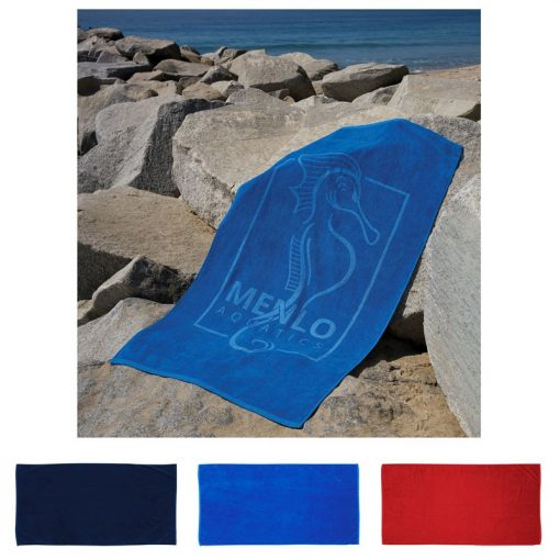 """Platinum Collection Colored Beach Towel (35"""" x 70"""")"""