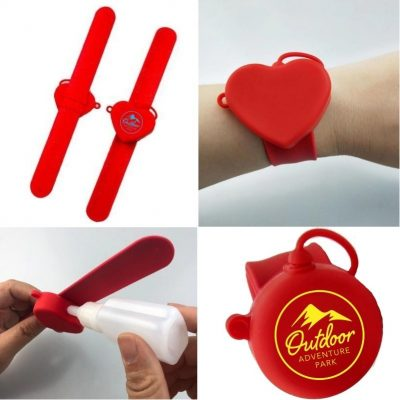 Wristband Sanitizer Holder