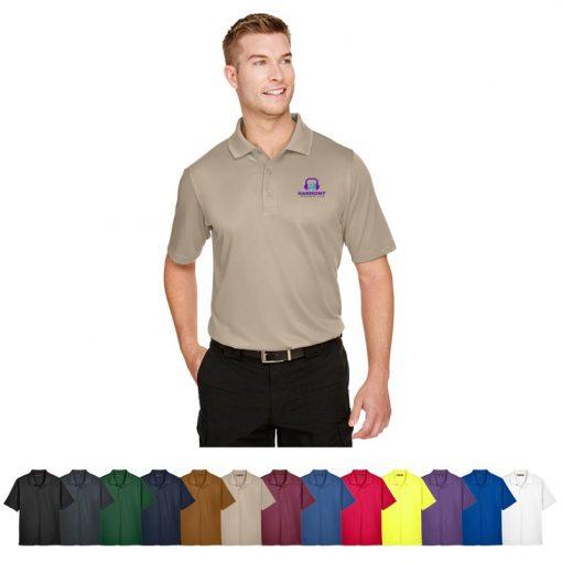 Harriton® Men's Advantage Snag Protection Plus IL Polo