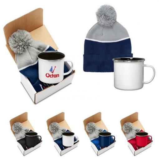 Log Cabin Warm Gift Set