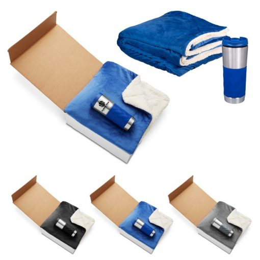 Sherpa Work From Home Comfort Gift Set