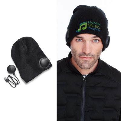Vox Beanie w/Wireless Headphones